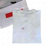 Lettere Modello T Shirt Mens Moda T-shirt con fiori Stampa Hiphop Boys Streetwear Eur Size Mans Summer Tops Vestiti Ins Tiktok per Commercio all'ingrosso