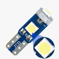 T5 Led Light 3SMD 3030 Chips Super Bright W3W W1.2W Car Dashboard Instrument Panel Lamp Warming Indicator Wedge Bulb 12V