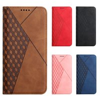 Comfortable Hand Feeling Wallet Magnetic Leather Phone Cases For iPhone 13 Pro 12 11 XS Max XR 6 7 8 SE2020 Samsung S21FE S21 Ultra S20 Plus A22 4g