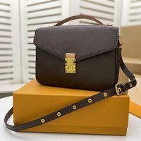 M44876 Pochette Métis Moda Senhoras Mão Sacos Top Qualidade Designer de Luxo Genuíno Bolsa de Ombro de Couro Cross Body Bolsas Metis Totes Crossbody Bag M44875