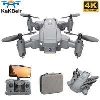 Kakbei KY905 Mini Drohne mit 4K CAM HD Faltbare Drohnen Quadcopter One-Key-Rückgabe FPV Folgen Sie mir RC Hubschrauber Quadrocopter Spielzeug 210607
