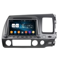 "4gb+128gb CarPlay 8"" PX6 Android 10 Car DVD Player for Honda Civic 2006-2011 RHD DSP Stereo Radio GPS Navigation WIFI Bluetooth 5.0"