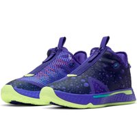 2021 PG 4 رابع أحذية كرة السلة للرجال أسود أوريو أوريو بول جي جي جيتراد مدربون جورج شقة منخفضة الرجال الرياضة رياضية CD5079-100 CD5079-003