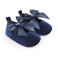 Athletic & Outdoor Mary Jane Bowknot Baby Girls Infant Non-Slip Ballet Slippers Soft Sole Born Toddler First Walkers 0-18M