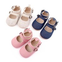 First Walkers Infant Baby Girls Soft Sole Prewalker Crib Mary Jane Shoes Princess Light Elastic Band Patent-Leather Moccasins Pom Flats