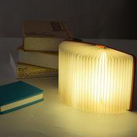 2021 new Hot Lumio-Style LED Folding Book Lamp 4 Colors Light Innovative Gift