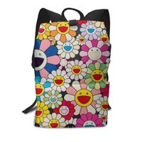 School Bags Murakami Flower Chicago Boys Waterproof Large Backpack For Teenagers Boy Student Bag