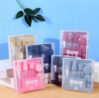 Garrafas de pacote de viagem 1 conjunto = 8 peças de produtos de pele de pele vazio maquiagem engarrafada portátil pequeno spray fwd6816