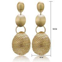 Dangle & Chandelier Fashion Statement Earrings Ball Geometric For Women Hanging Drop Earing Modern Jewelry