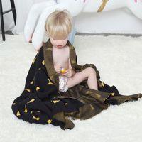 Blankets & Swaddling 120*180cm Baby Blanket Infant Knitted Children Quilt Stroller Sleep Cover Air Conditioning Kids Nap