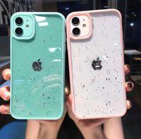Custodie per cellulari Star Star Sequins Bling Bling Fashion Coque Designer Caso per iPhone 12 Pro Max Cover 11 XS XR X Antiurto