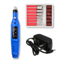 Nail Drill & Accessories 12-Colors Professional Machine 13000 RPM Rechargeable Pen Apparatus For Manicure Gel Polisher Nails Tool