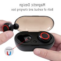 JFWEN Y50 bluetooth headphones 5,0 TWS wireless headphones Earbuds Stereo Gaming Headset With charging box for phone wholesale