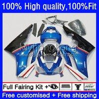 Injektionsfeedningar för Triumph Daytona-675 Blue White Blk Daytona 675 675R 02 03 04 05 06 07 08 Bodywork 11No.19 Daytona675 2002 2003 2004 2005 2006 2007 OEM Bodys