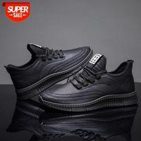Chaussures de sport de chaussures de nouveaux hommesConfortez les chaussures simples et respiratemen # HP9i