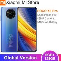 Globale Version POCO X3 Pro Handy Snapdragon 860 6GB RAM 128GB ROM 120Hz DotDisplay 5160mAh batterie 48MP Quad AI Kamera