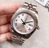 U1 ST9 luxury watch Silver Roman Dial 41mm 126333126334 Automatic Mechianical Wristwatches Jubilee Strap Sapphire 2813 126301 Datejust Movement Mens Watches