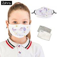 Máscara Zohra Impressão Digital Lavagem Diária Estéreo de Algodão Poeira e Haze PM2.5