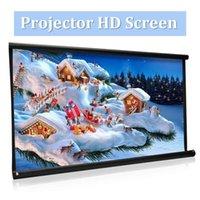 Haute luminosité pliable 100 pouces HD Screen Toile 16: 9 Projecteur Home Home Théâtre Projection Movie Projecteur1