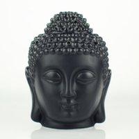 السيراميك بوذا رئيس البخور الشعلات التبت تمثال الحلي المنزل مكتب المنضدية الديكور النفط الناشر العطور مصابيح