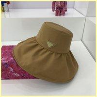 2021 الرجال مصمم قبعة بيسبول واسعة بريم القبعات الأزياء المرأة في الرياضة p كاب دلو قبعة مصممي قبعات القبعات رجل casquette 21080405R