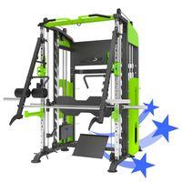 Multifonctionnel Smith Machine Healthlifting Equipement de sport Matériel de formation Câble Crossover Fitness Gym Accueil Equipement intégré