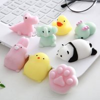 The Qixi Festival tiktok Valentine's Day gift, lovely animal pinch ball, mini dumpling doll toys, decompression and vent, gifts for friends,