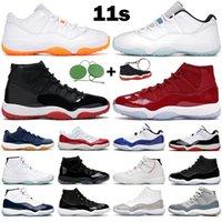 Homens Mulheres Basquetebol Sapatos 11s Jumpman 11 High Low top Bright Citrus Legend Cerimony Cerimony Concord Ganhe como 96 Mens Sports Sneakers