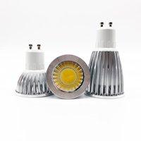 Birnen super hellgu 10 licht dimmbare LED 110V 220V 85-265V 6W 9W 12W GU10 COB-Lampe Scheinwerfer