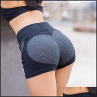 Yoga Exercise Athletic Outdoor Apparel & Outdoorsyoga Outfits Running Sports Wear Short Breathable Shorts For Fitness Quick Qry Gym Leggings