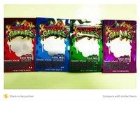 dank gummies Packaging Mylar Cook bag wet plastic edibles candy package Packagingg Worms 500 mg edible bear cube Packing wholesale