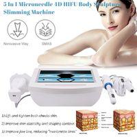 Портативный 5 в 1 в 1 4D Hifu вагинальный затягивающий липозоникс V-Max Body для похудения машина удаление морщин лица подтягивание жира