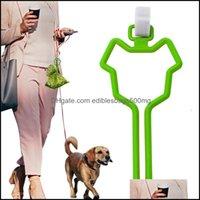 Travel Outdoors Supplies Home & Gardendog Waste Bag Carrier Pet Leash Dispenser Hands- Holder For Dog Poop Bags 7 Colors T500729 Drop Delive