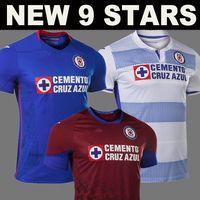 9 Yıldız Cruz Azul Futbol Forması 9th Star 2020 2021 Ev Uzaktan Üçüncü Kırmızı 20 21 Futbol Gömlek Liga MX Erkekler + Çocuk Kiti Camiseta de Fútbol
