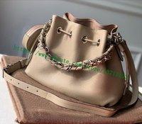 أعلى درجة سيدة حقيبة رمادي الجلود المثقبة M57201 BELLA Handbag أسود M57070 الوردي M57068 النساء grained calfskin mahiina الكتف رسول