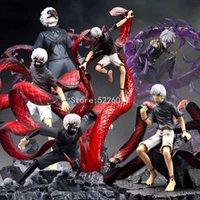 Artfx J Tokyo Ghoul Anime Figure Kaneki Ken Action Figure Touka Kirishima Figure Hause Sasaki Figurine Poupée Collectionnable Jouets Q0621