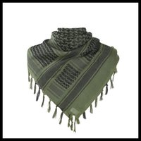 Cycling Caps & Masks Thick Muslim Tactical Desert Arab Scarves Men Women Winter Windy Military Windproof Hiking Scarf