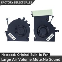 New Replacement Cooling Fans for HP TPN-Q194 15-CE Pro Series Laptop CPU+GPU Fan One Pair