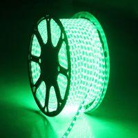 Светодиодная полоса света водонепроницаемая RGB полоски ленты 5050 светодиодная лента 220 гибкий жгут 220V 60LEDS / M Освещение с видом ЕС