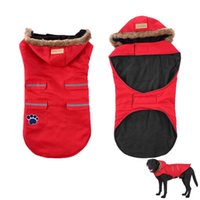 Dog Apparel Windproof Winter Coat Sport Warm Wool Cotton Inner Layer Vest Jackets Snowsuit For Small Medium Large Dogs