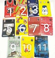 Arrivée 17 genres 3.5g Mylar Sacs Tomyz Ackpack Boyz 33 Lucky 420 Packaging fleur d'herbe sèche