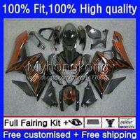 OEM Motorfiets Lichaam voor Suzuki GSXR 1000 cc 1000cc Carrosserie 26NO.137 K5 GSXR1000 05 06 GSXR-1000 2005-2006 GSX-R1000 2005 2006 Injectie Mold Falling Orange Flames
