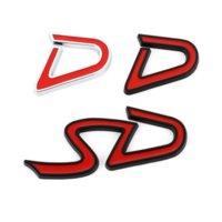 3D 금속 SD D 로고 배지 엠블럼 자동차 스티커 데칼 BMW 미니 구리 R55 R56 R60 R61 Clubman F55 F56 F60 Countryman 자동차 스타일링