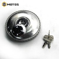 Theft Protection ZS MOTOS CJ-K750 Side Motorcycle Stainless Steel Fuel Tank Lock Cap With Key For Motor Ural M72 R50 R1 R12 R 71