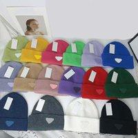 Diseñador de moda Beanie Cap Skull Hat Sombrero de punto Gorros para hombre Mujeres Classic Letra Sombreros de esquí Snapback Pitted Unisex Invierno Casual Outdoor 16 Color