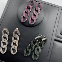 Hoop & Huggie Chain Earrings For Women Color Stainless Steel Pendants Hhigh Quality Korean Hypoallergenic Gifts With Logo Punk