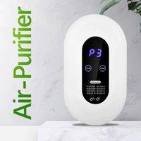 Smart Home Control Air Purificateur d'air Supprimer Nettoyant d'air Formaldéhyde Purification de la poussière de fumée Chambre Loniseur Purificateur Anion pour la cuisine