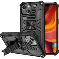 For iphone 13 pro max 12 11 7 8 mobile phone cases shell mixed PC TPU 2 in 1 Hybrid Armor Kickstand Shockproof Back Cover