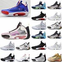 2021 الرجال 34 jumpman أحذية كرة السلة xxxiv روي هاتشيمورا x التراث 34s الأشعة تحت الحمراء 23 حديقة حديقة نوح سنو ليوبارد أسود القط كرسبي رجل الرياضة J8WV #