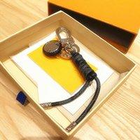 디자이너 키 체인 여성 가방에 대 한 패션 키 링 자동차 키 체인 악세사리 보석 선물 기념품 상자
